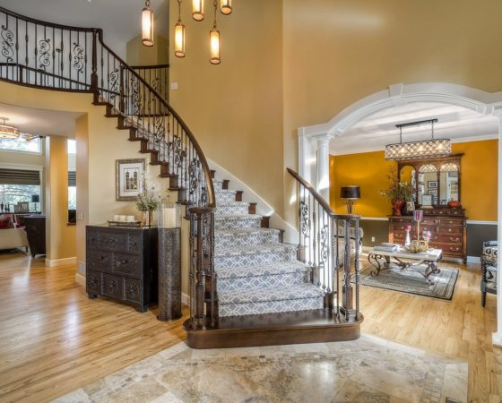 Staircase Redesign in Castle Pines Colorado